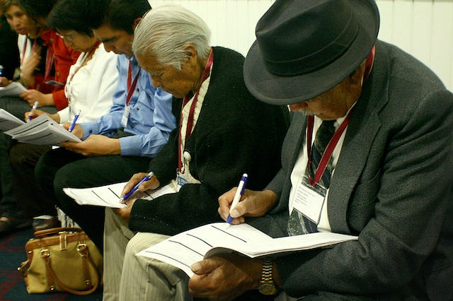 People came from the far corners of Mexico to attend the regional Baha'i conference in Guadalajara on 10-11 January.