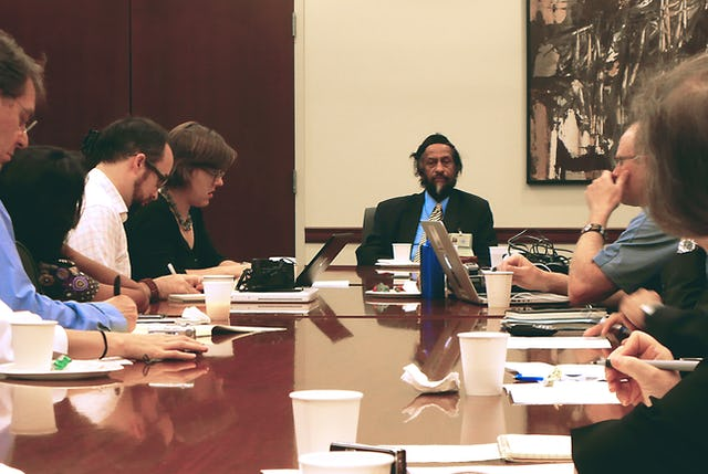 """Dr. Pachauri called for a """"groundswell of grassroots action"""" on what needs to be done to address the challenge of global warming. He spoke in New York as world leaders were gathering at the United Nations."""