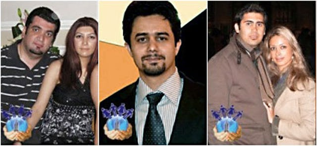 The Committee of Human Rights Reporters has published these photographs and identified the individuals as among the 10 Baha'is, including two married couples, arrested on 3 January.