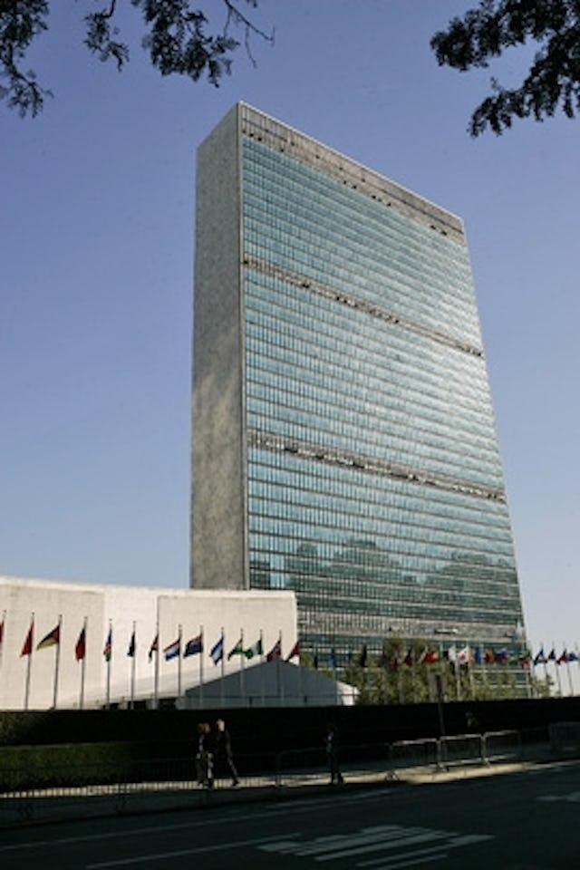 The UN Headquarters buildings in New York City. UN Photo/Mark Garten.