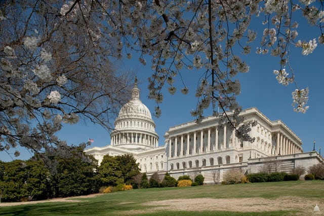 The U.S. Capitol, meeting place of the United States Congress. Photo: Architect of the Capitol.