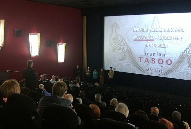 "In Hofheim, Germany, on 5 May, the Baha'i community sponsored a screening of ""Iranian Taboo,"" a documentary film by prize winning Iranian-Dutch director Reza Allamehzadeh about the persecution of Iranian Baha'is."
