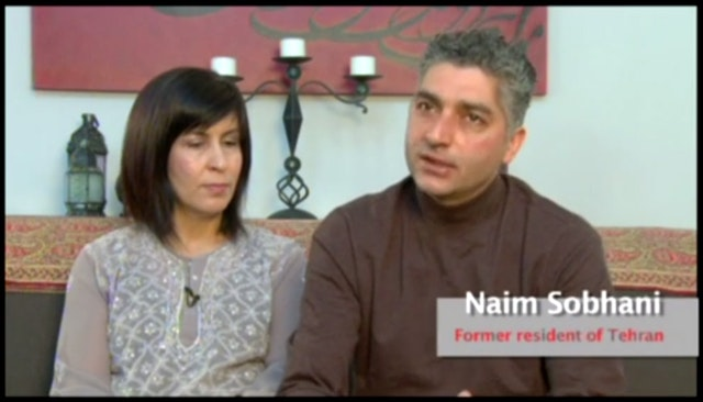 Naim Sobhani, one of the people interviewed in the video.