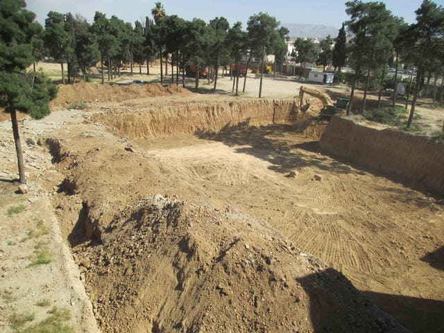 Photos of the destruction of a historic Baha'i cemetery in Shiraz by the Revolutionary Guards.