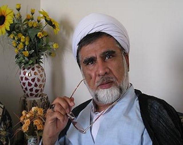 Hojatoleslam Mohammad Taghi Fazel Meybodi, a high-ranking cleric in Iran.