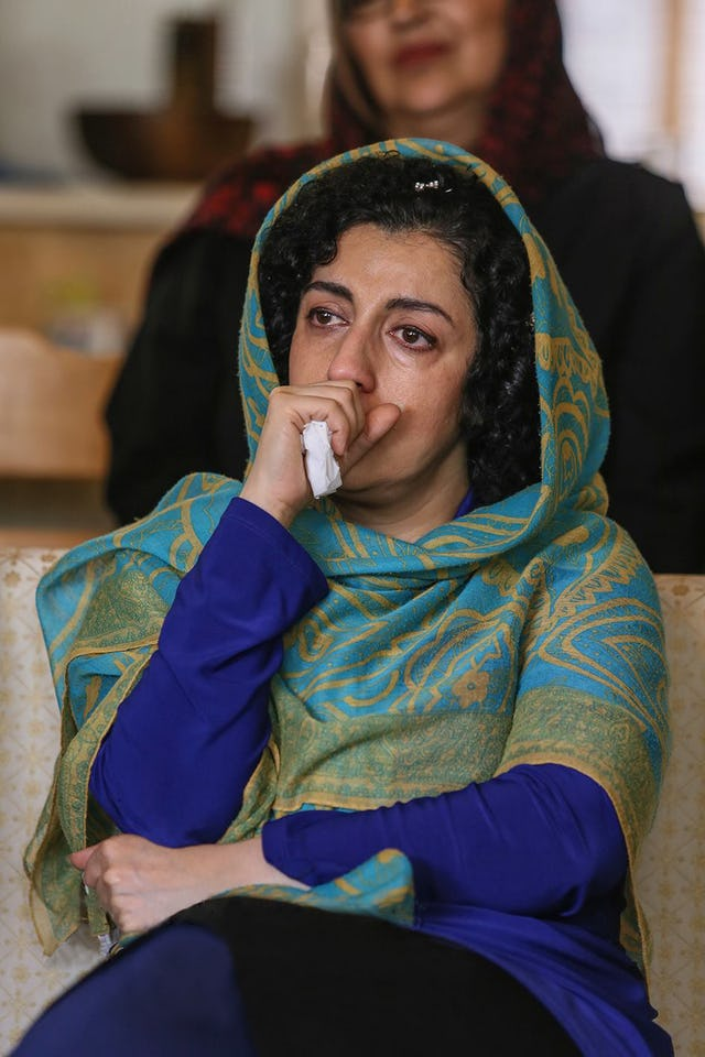 Nargess Mohammadi, a prominent women's rights activist and the vice president of the Defenders of Human Rights Center.