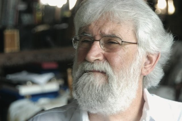 Leonardo Boff, who currently serves as Professor Emeritus of Ethics, Philosophy of Religion and Ecology at the Rio de Janeiro State University.
