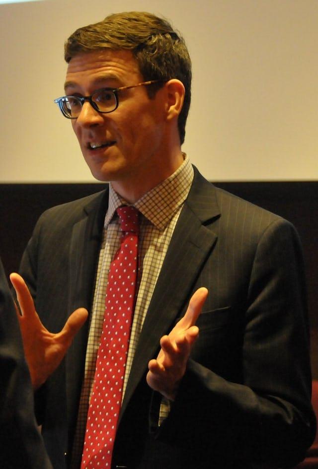 Andrew Bennett, Canada's Ambassador for Religious Freedom.