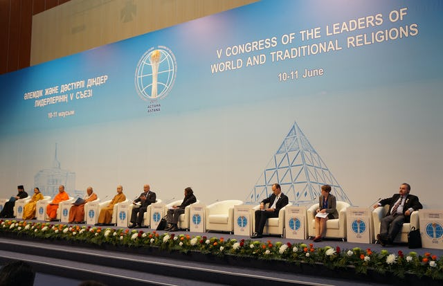 Panel on the influence of religion on youth at the 5th World Congress of the Leaders of World and Traditional Religions.
