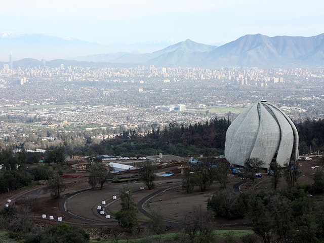 The Baha'i House of Worship in Chile
