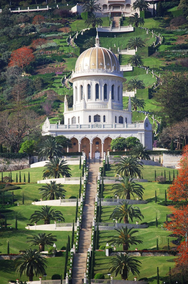 Members of the Continental Boards of Counsellors have gathered at the Baha'i World Centre for the momentous Counsellors Conference, which began this morning. For three days prior, they visited the sacred Baha'i Shrines and holy places in preparation for the conference.