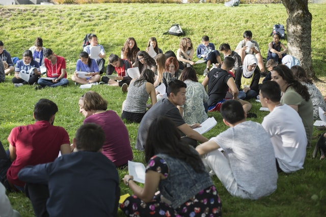 Youth at a gathering in Vancouver, Canada in May 2016.