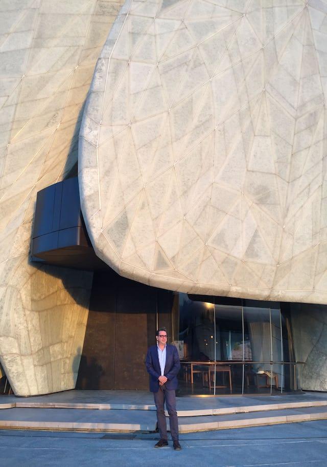 The Chile Temple architect, Siamak Hariri