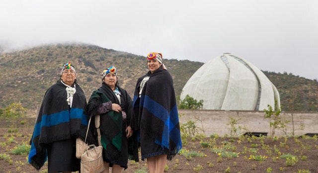 A special program was held early Sunday morning for representatives of indigenous populations in South America.