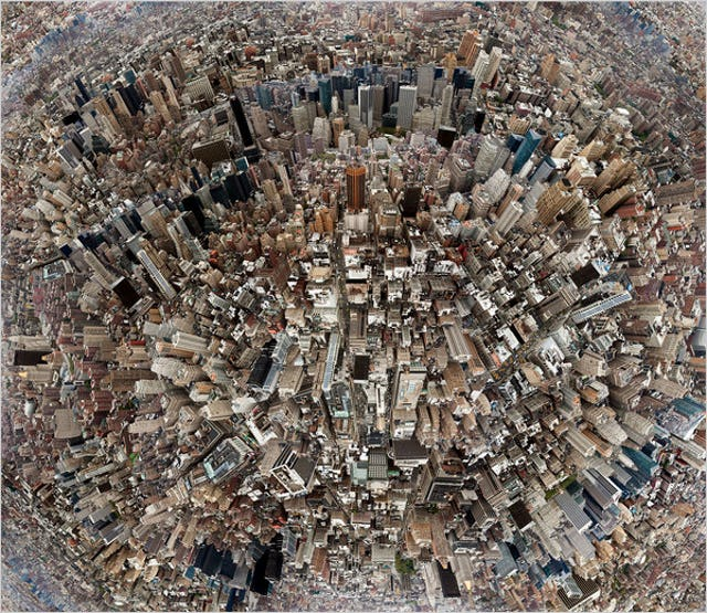 """The rise of mega-cities over the past decades has been one of the most striking phenomena of our time. """"Urban centers have become the dominant habitat for humankind,"""" wrote the Secretary General in his report on the Third United Nations Conference on Housing and Sustainable Urban Development. Photo credit: New York Times"""