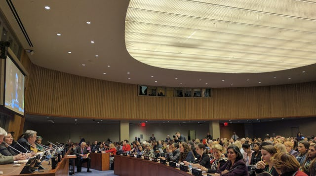 The BIC contributed to the discourse on the advancement of women during the UN Commission on the Status of Women this year.