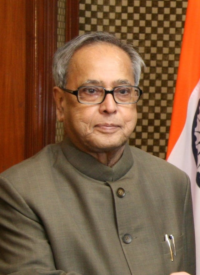 His Excellency Pranab Mukherjee, President of India. Photo credit: US Embassy in Delhi