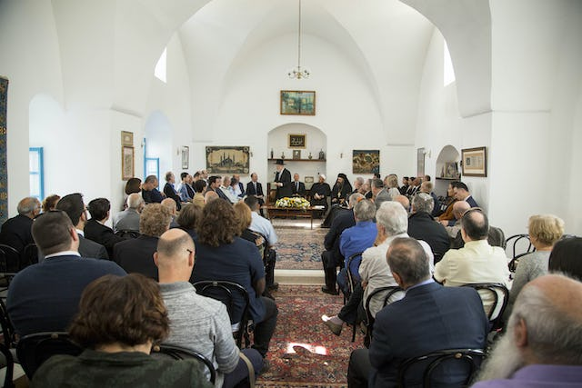 Local authorities, religious leaders from the Jewish, Muslim, and Christian faiths, and representatives of civil society, came together on 24 March in old Akka at a historic former residence of 'Abdu'l-Baha for this year's reception.