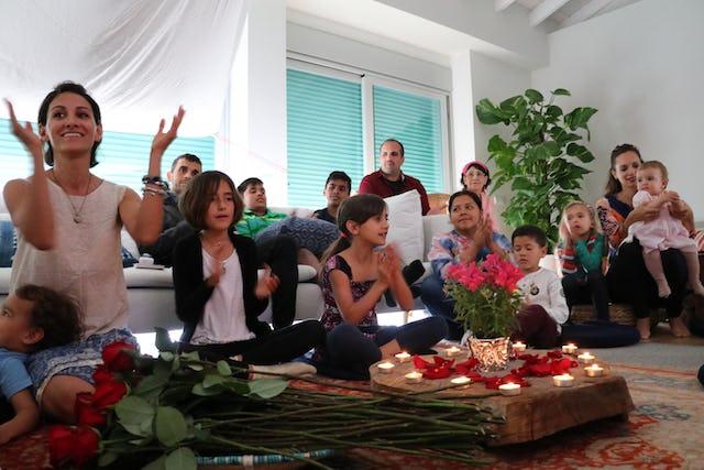 Members of the community celebrate Ridvan in Marbella, Spain.