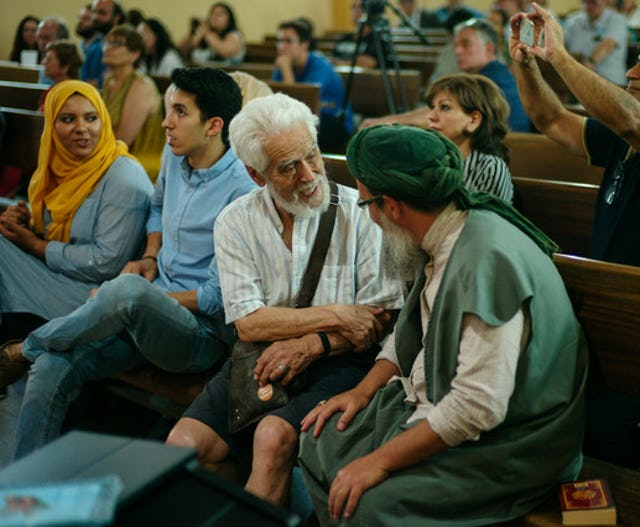 Some 300 representatives of religious communities and civil society organizations gathered for a conference at the Iglesia de Jesus Church in Madrid on 20 June 2017, the International Day for Refugees.