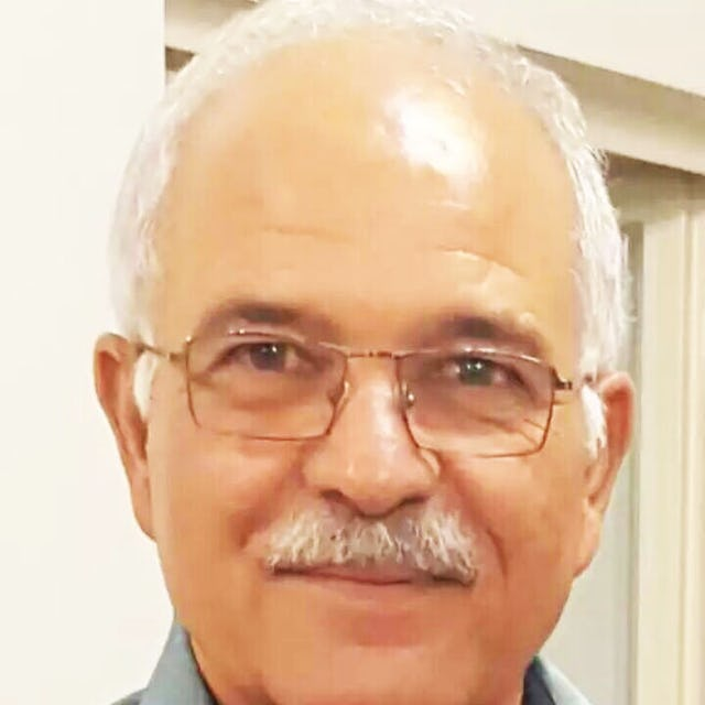 Farhang Amiri, 63, was murdered outside his home on 26 September 2016 in the city of Yazd, Iran, where he and his family have long resided.