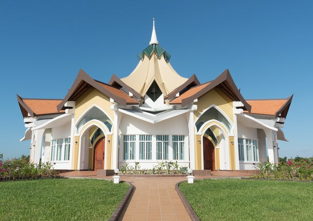 The Baha'i House of Worship in Battambang, Cambodia, will be dedicated tomorrow.