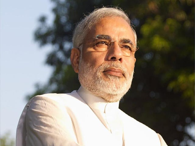 Indian Prime Minister Narendra Modi addressed a letter to the Baha'i community of his country on the occasion of the bicentenary anniversary of the birth of Baha'u'llah. (photo credit Wikipedia commons, copyright Balatokyo)
