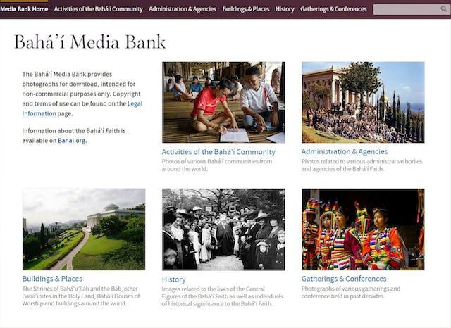 Desde hoy se encuentra disponible el Banco de recursos bahá'ís actualizado.