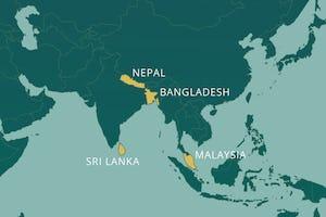 Les communautés bahá'íes du Bangladesh, de Malaisie, du Népal et du Sri Lanka ont reçu des messages en hommage au prochain bicentenaire de la naissance de Bahá'u'lláh.