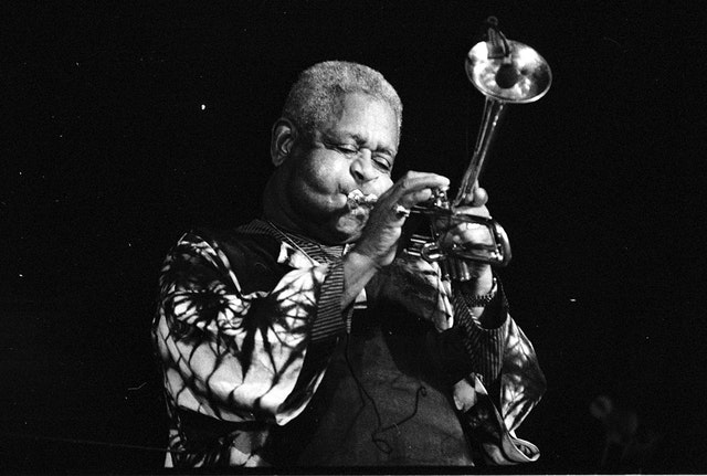 Dizzy Gillespie, who would have turned 100 this month, was an American musician who is remembered as one of the greatest jazz trumpeters of all time. (Photo courtesy of Roland Godefroy, accessed through Wikimedia Commons)