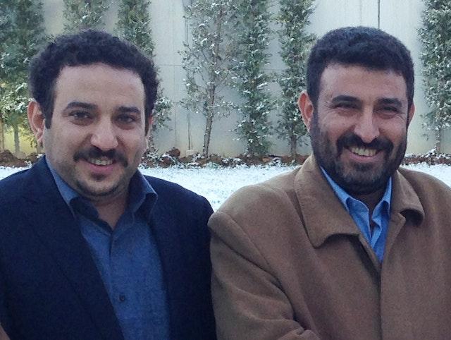 Akram Ayyash (left) and Walid Ayyash (right). Akram Ayyash was arrested yesterday in Sana'a. Walid Ayyash was abducted in April 2017.