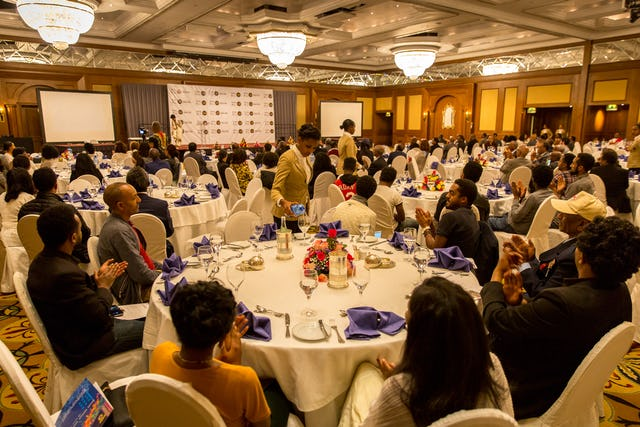 One hundred fifty guests gathered at the celebration of the bicentenary of Baha'u'llah's birth hosted by the BIC's Addis Ababa Office and the Baha'i community of Ethiopia.