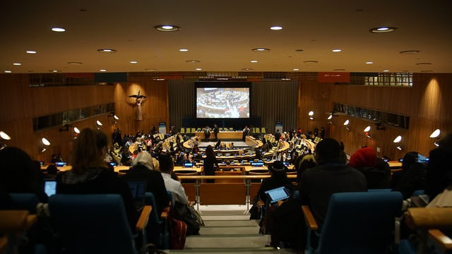The United Nations' 56th Commission for Social Development runs from 29 January to 7 February 2018.