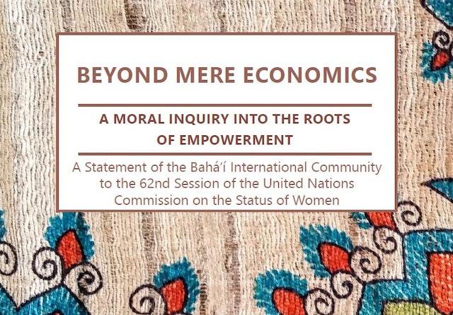 La Comunidad Internacional Bahá'í ha publicado una declaración para la Comisión de las Naciones Unidas de la Condición Jurídica y Social de la Mujer (CCJSM), que comienza hoy 12 de marzo. Esta imagen es de la Comisión del año pasado, en la que también se presentaban varias contribuciones destacadas de la CIB.
