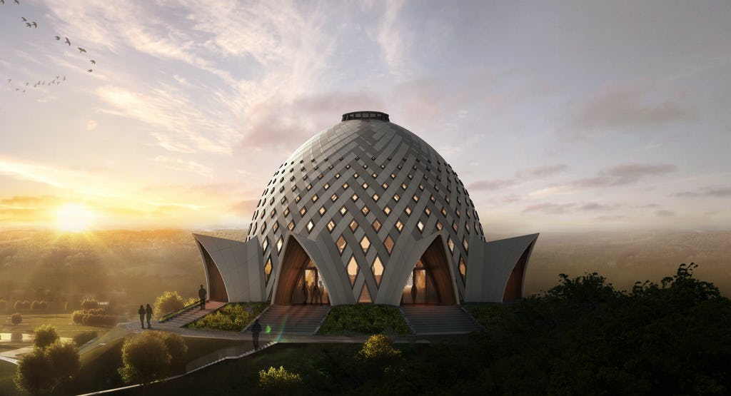 The design of the national House of Worship in Port Moresby, Papua New Guinea