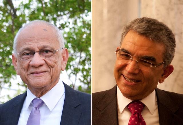 Mr. Gustavo Correa (left) and Dr. Firaydoun Javaheri (right)