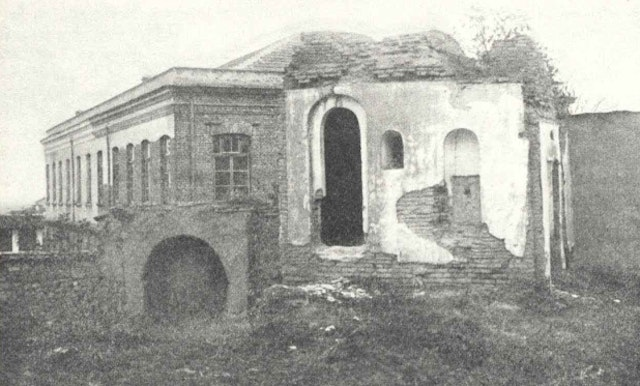 Baha'u'llah began His proclamation to the kings and rulers of the world while living in Edirne, Turkey. This photo from October 1933 shows the ruins of the House of 'Izzat Aqa in Edirne, Turkey, the final home of Baha'u'llah in the city.