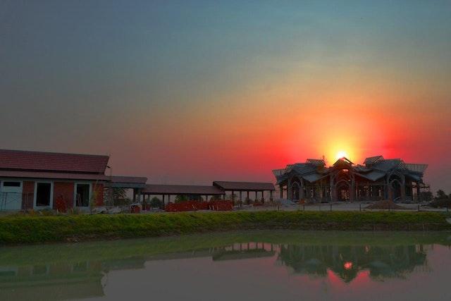 The local Baha'i House of Worship in Battambang, Cambodia.