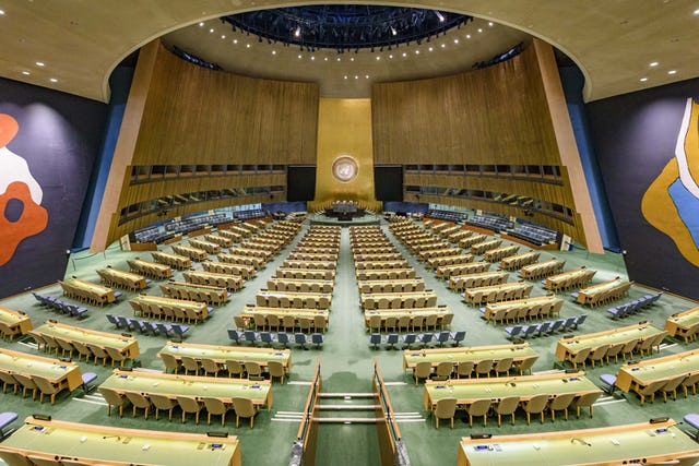A view of the General Assembly Hall at UN Headquarters (UN Photo/Manuel Elias)