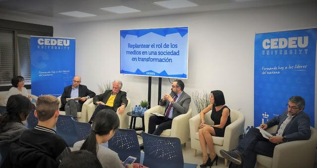 A roundtable discussion held at the Center of University Studies associated with the King Juan Carlos University in Madrid on 15 March focused on the role of media in fostering unity in society.