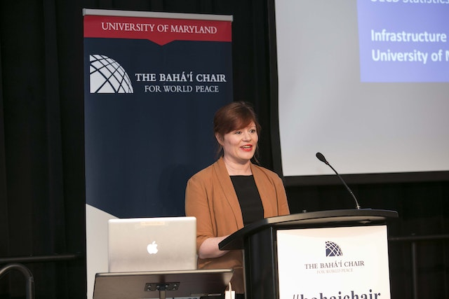 Carrie Exton from the Organization for Economic Cooperation and Development (OECD) argued that researchers and journalists interested in trying to gauge the prosperity of societies focus too much on gross domestic product, a measure of a country's economic output, rather than on indicators of happiness and well-being.