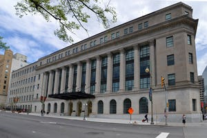 The Canadian Parliament's Standing Committee on Justice and Human Rights met in the Wellington Building in Ottawa, Ontario, on 11 April, hearing from the Baha'i community and others about how to deal with online hate speech. (Credit : Ericsteinhk, [Wikimedia Commons](https://commons.wikimedia.org/wiki/File:WellingtonStreet.jpg))
