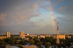 En Kinshasa, República Democrática del Congo, la comunidad bahá'í está ayudando a organizar reuniones para reflexionar sobre las contribuciones positivas de la religión a la sociedad y el poder de la fe para unificar y para impulsar la paz.