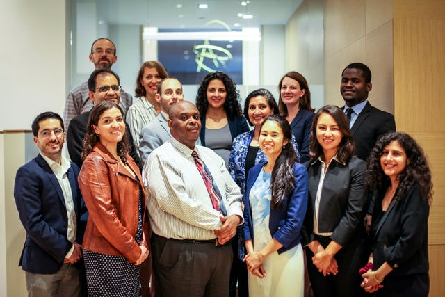 The Baha'i International Community's delegation to the United Nations High Level Political Forum
