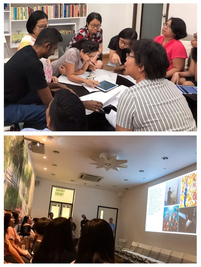 In Singapore, community members are beginning to consult about bicentenary preparations. As part of these gatherings, some are reflecting on the various artistic expressions created during the celebrations of bicentenary of the birth of Baha'u'llah in 2017 and consider plans for new pieces.