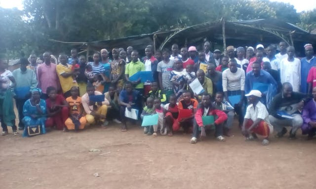Several dozen people participated in a special conference in Mbotoro, Cameroon, to meet people interested in learning about the Baha'i Faith and participating in the preparation and celebration of the bicentenary of the birth of the Bab.