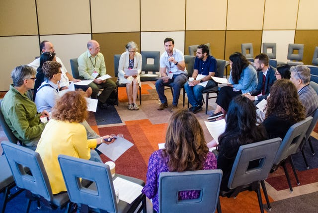 The 43rd annual Association for Baha'i Studies conference created an opportunity for attendees to reflect on their efforts to contribute to spiritual and social transformation. (Credit: Louis Brunet)