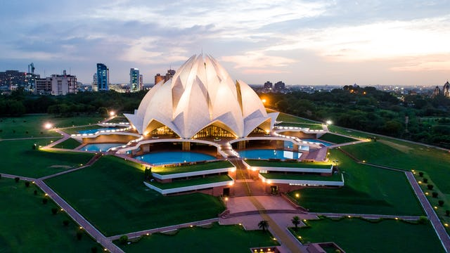 Religious leaders, students, scholars, and others recently met at the Baha'i House of Worship in New Delhi, India, to explore the role that sacred spaces play in contemporary Indian society.