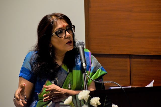 Bindu Puri, chair of the Center for Philosophy at Jawaharlal Nehru University in New Delhi, discusses the role of places of worship in society.