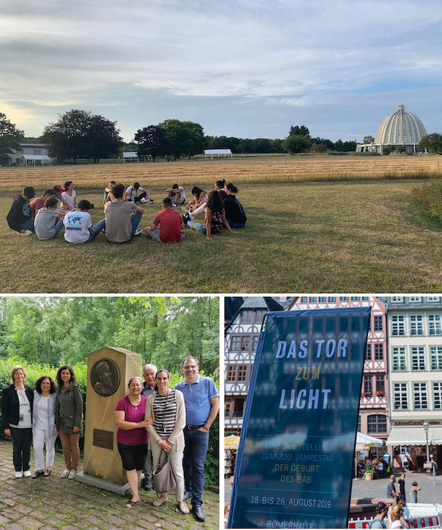 Germany's Baha'is have undertaken numerous steps to prepare for the upcoming bicentenary. Recent efforts include storytelling gatherings to bring the early history of the Faith to life, a group's visit to a small town that has memorialized 'Abdu'l-Baha's visit there in 1913, and a growing number of young people arising to serve their neighborhoods.
